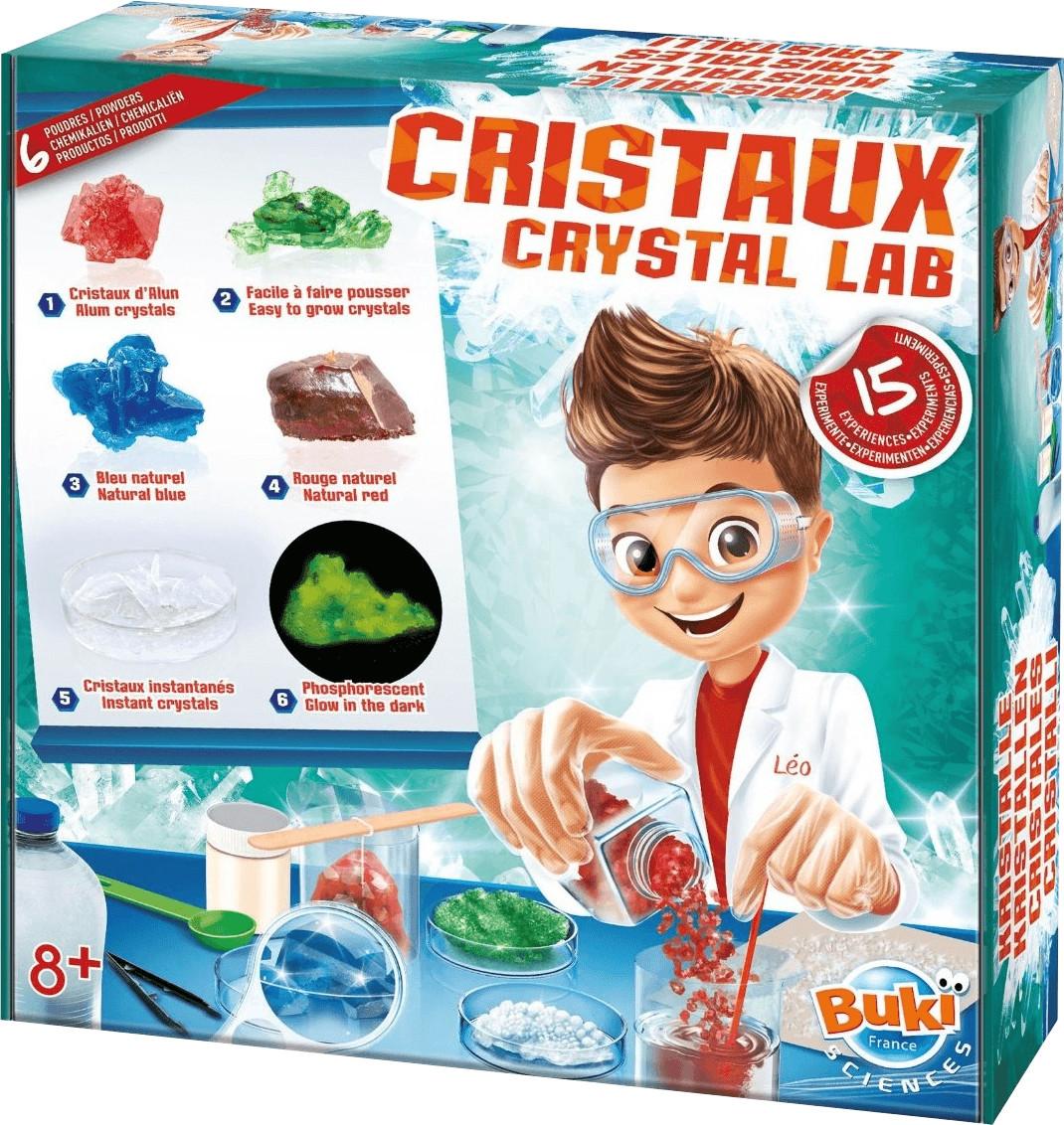 Buki Cristales 15 experimentos