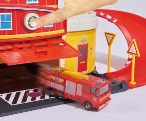Feuerwehrsation Fire Rescue Centre Dickie Toys Feuerwehrmann Sam Jupiter