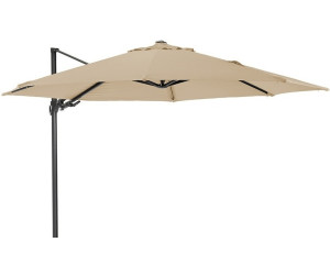 diamond garden pellworm ampelschirm 350 cm ab 461 72 preisvergleich bei. Black Bedroom Furniture Sets. Home Design Ideas
