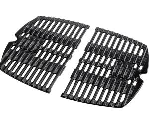 weber weber grillrost f r q100 q1200 gusseisen emailliert 2 tlg 7644 ab 72 98. Black Bedroom Furniture Sets. Home Design Ideas