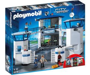 Playmobil Prisión6919 Action Comisaria City Policía De Con QBedxorCW