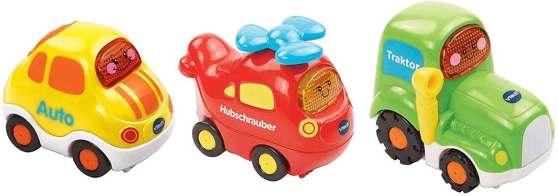 Vtech Tut Tut Baby Flitzer - Set 11: Auto, Traktor und Hubschrauber
