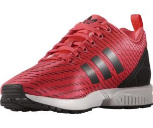 Adidas ZX Flux shock redshock redcore black au meilleur