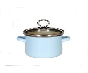 IMPERA/® Kochtopf-Set 18cm, blau