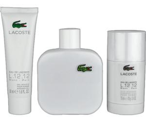 online store 61ae3 40159 Lacoste Eau de Lacoste L.12.12 Blanc Set (EdT 100ml + SG ...