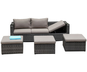 zebra jack lounge set taupe 5270 ab preisvergleich bei. Black Bedroom Furniture Sets. Home Design Ideas
