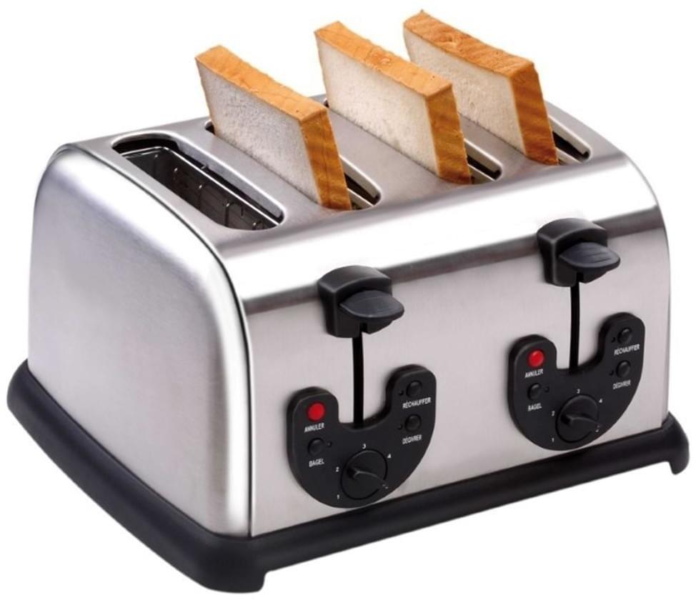 GGG Edelstahl-Toaster HTO-110D