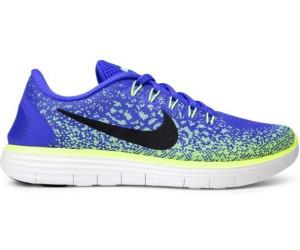 Nike Damen Free Run Distance Halbschuh, Blau, 38 EU