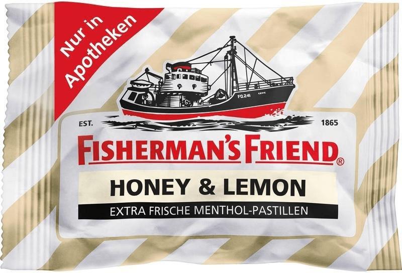 Fisherman´s Friend Honey & Lemon ohne Zucker Pa...