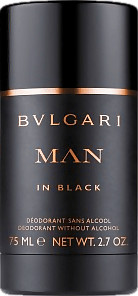 Bulgari Man In Black Deodorant Stick (75ml)