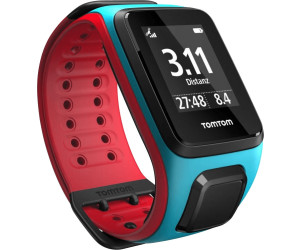 TomTom Runner 2 - turquoise/rouge - large
