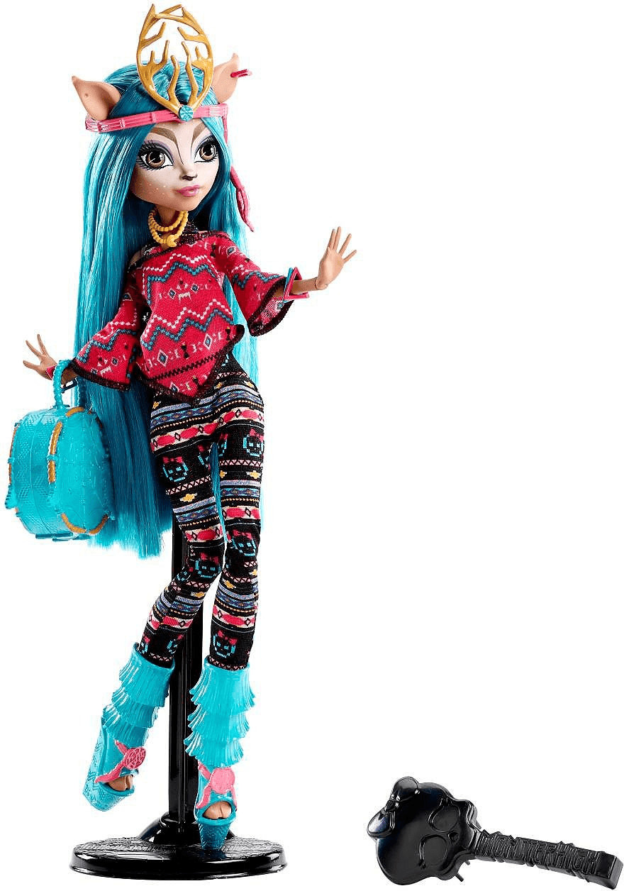 Monster High Schüler-Graustausch - Isi Dawndancer
