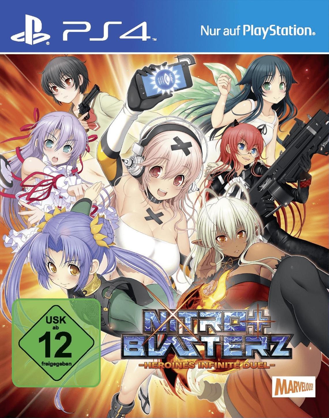 Nitro+ Blasterz: Heroines Infinite Duel (PS4)