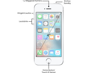 apple iphone se 64gb silber ab 349 90 preisvergleich. Black Bedroom Furniture Sets. Home Design Ideas