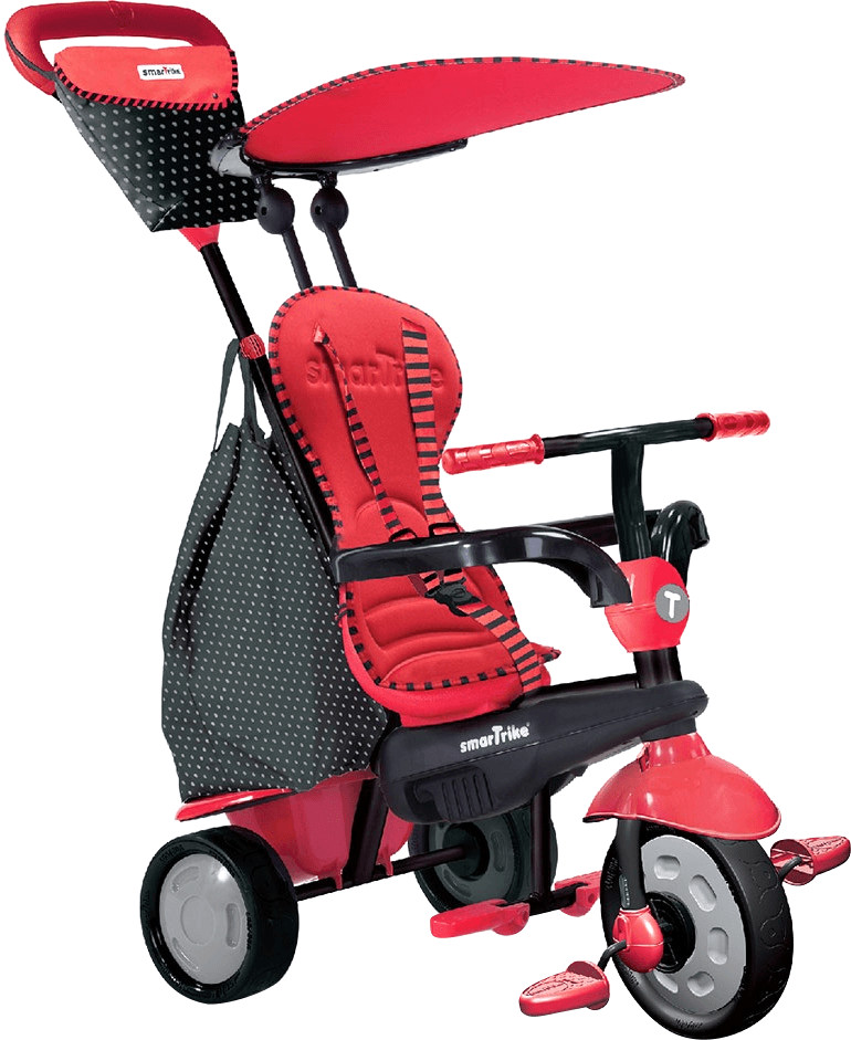 smarTrike Glow Touch Steering 4 in 1 rot