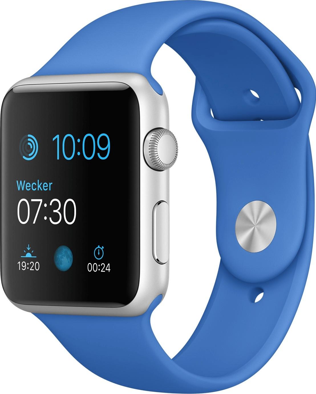 Apple Watch Sport 42mm königsblau