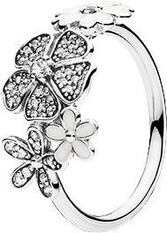 Pandora Blumen-Bouquet (190984CZ-56)