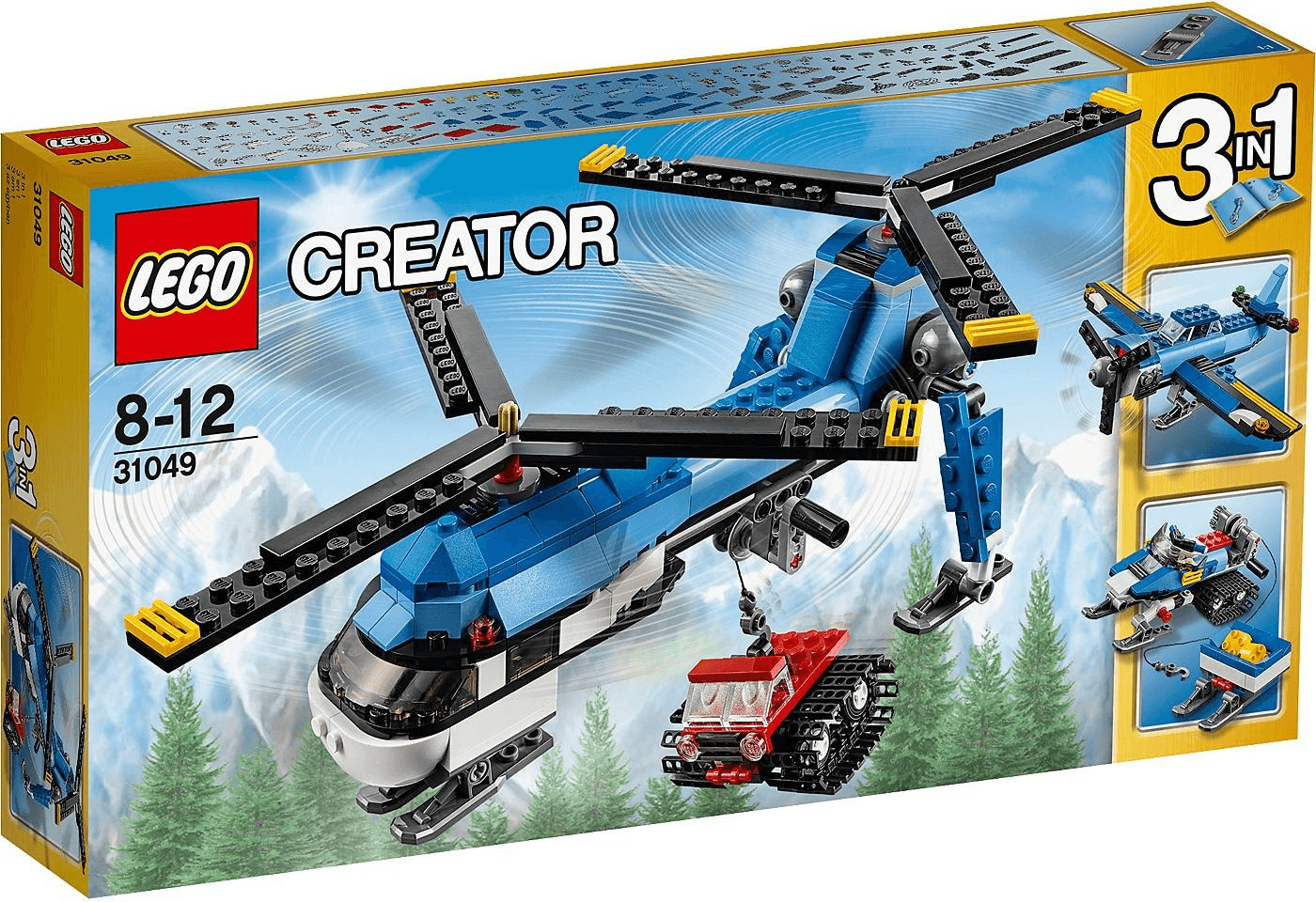 LEGO Creator - Doppelrotor-Hubschrauber (31049)