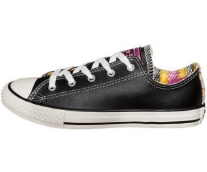Black Srapy Paint Converse