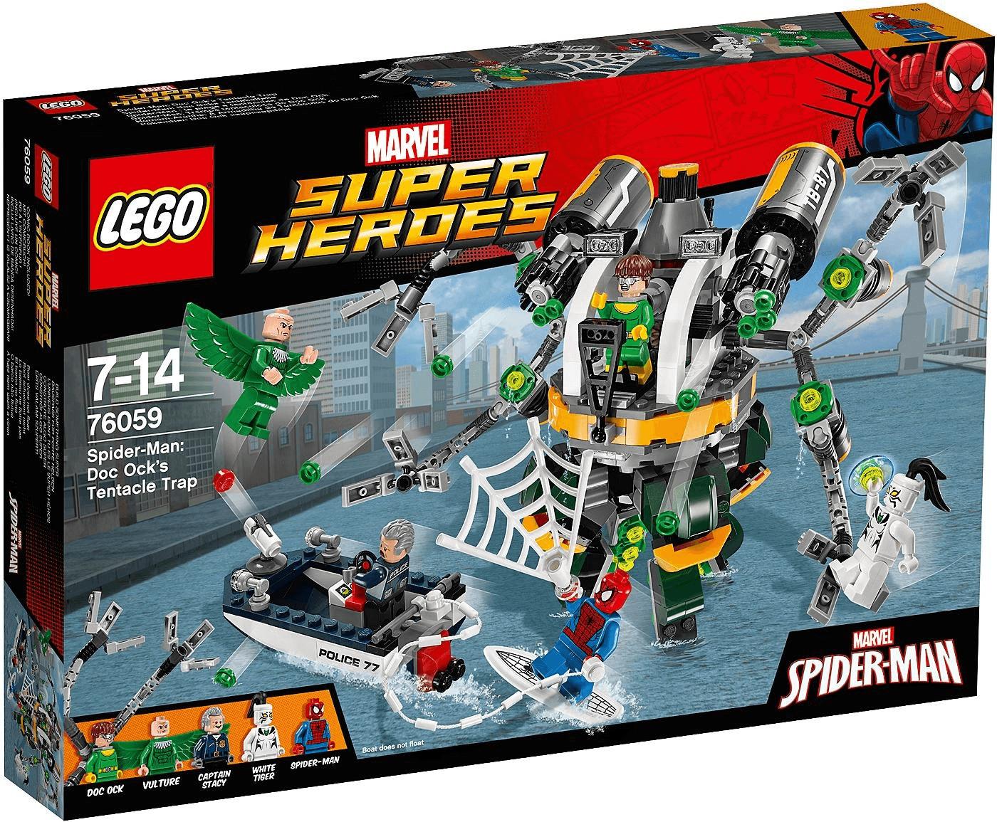 LEGO Marvel Super Heroes - Spider-Man: Doc Ocks Tentakelfalle (76059)