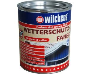 wilckens wetterschutz farbe schokoladenbraun 8017 0 75 l ab 7 64 preisvergleich bei. Black Bedroom Furniture Sets. Home Design Ideas
