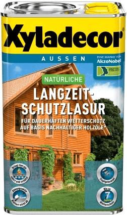 Xyladecor natürliche Langzeit-Schutzlasur 4 l n...