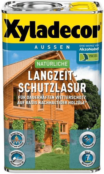 Xyladecor natürliche Langzeit-Schutzlasur 4 l f...