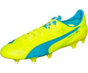 Puma evoSPEED SL FG safety yellow/atomic blue/white