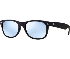 Ray-Ban New Wayfarer RB2132 622 30 (black silver flash) au meilleur ... 8aa62745ec57