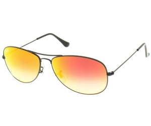 ray ban cockpit gold blau