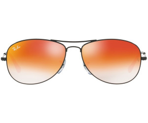 7518b7fba2 Buy Ray-Ban Cockpit RB3362 002 4W (black orange gradient flash) from ...