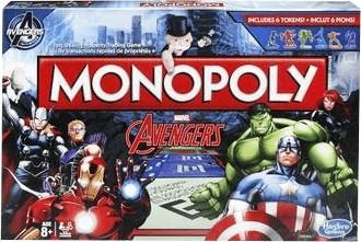 Hasbro Monopoly Avengers Game (B0323)