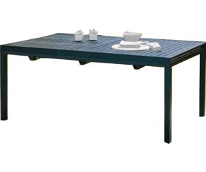 DCB Garden Table Miami avec rallonge 180/240 x 110 cm au meilleur ...