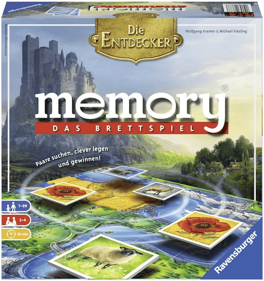 Ravensburger Memory Die Entdecker (26677)