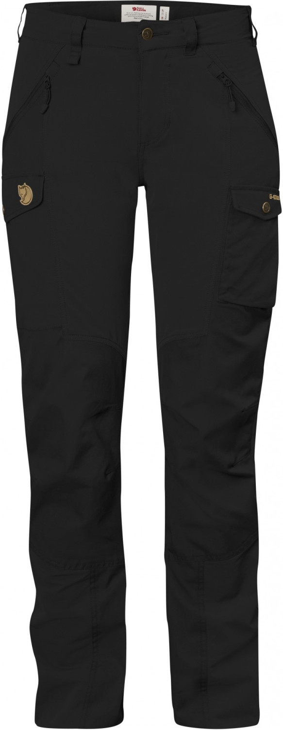 Fjällräven Nikka Trousers Curved Black / Black
