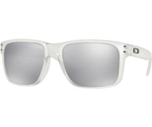 oakley paire de lunettes holbrook clear chrome iridium