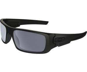 Oakley Herren Sonnenbrille »CRANKSHAFT OO9239«, schwarz, 923906 - schwarz/schwarz