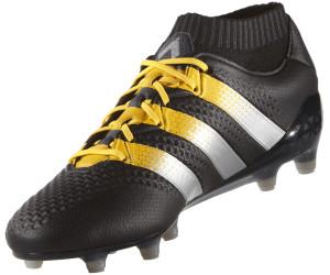 Adidas Ace 16.1 Primeknit FG Men core black silver metallic solar ... 0c996168ae1bd