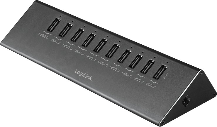 Image of LogiLink 10 Port USB 2.0 Hub (UA0226)