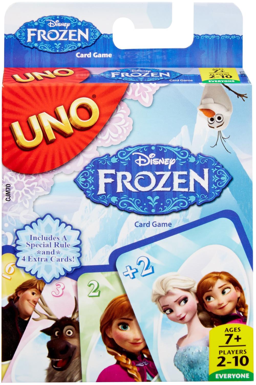 Mattel Uno Disney Frozen