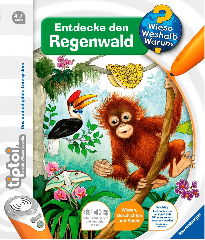 Ravensburger tiptoi - Entdecke den Regenwald