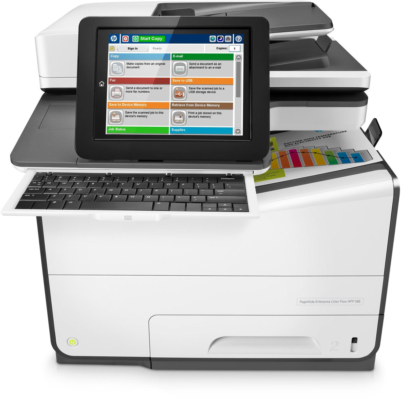 HP PageWide Enterprise Color MFP 586z (G1W41A)