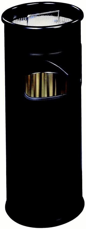 DURABLE Kombiascher aus Stahl 17 L schwarz