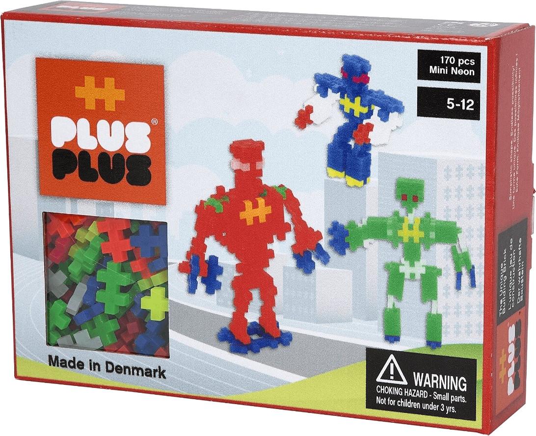 Plus-Plus Mini Neon 170 Robots