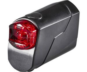 schwarz Trelock 8004348 LED-Akku-Rückleuchte Reego LS 720 ION USB mit Halter