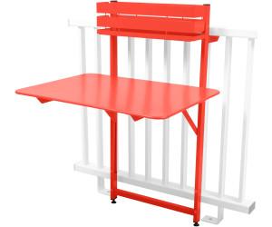 Bistro Table 57 capucine cm meilleur 77 x Fermob balcon au Qrshtd