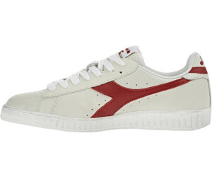 Diadora Game L Low Waxed Herren Sneaker Schuhe Weiß Grün NEU 501.160821 C1161