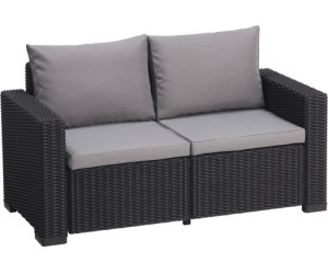 allibert california loungesofa 2 sitzer grau ab 199 90 preisvergleich bei. Black Bedroom Furniture Sets. Home Design Ideas
