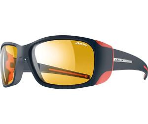 Julbo Monterosa Zebra Sunglasses Women Dark Blue/Coral-Yellow/Brown 2018 Sonnenbrillen mFAtSJmT