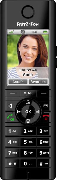 AVM FRITZ!Fon C5 DECT-Komforttelefon für FRITZ!Box (hochwertiges Farbdisplay, HD-Telefonie, Internet-/Komfortdienste, Steuerung FRITZ!Box-Funktionen)...